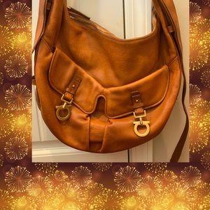 Salvatore Ferragamo Italian leather bag